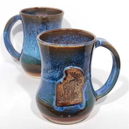 Mug -  Moose-Blue