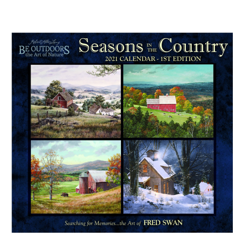 Seasons in the Country 2021 Fred Swan Calendar