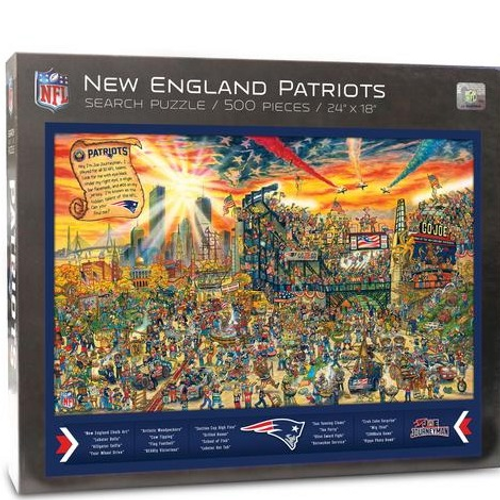 New England Patriots- Search Puzzle