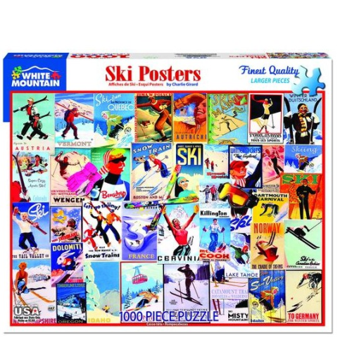 Ski Posters- puzzle