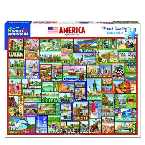 America- puzzle