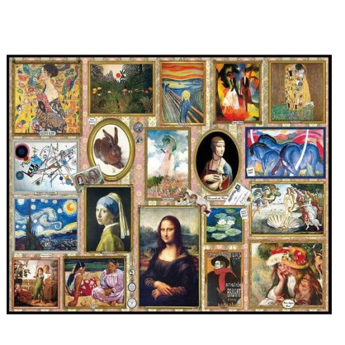 Great Paintings- puzzle