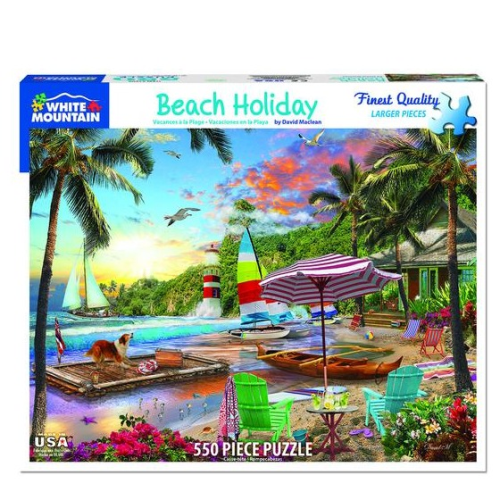 Beach Holiday- puzzle