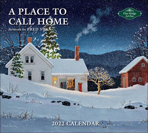 2022 Fred Swan Artist Calendar