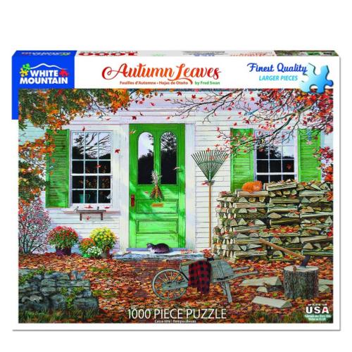 Raking Leaves- Puzzle