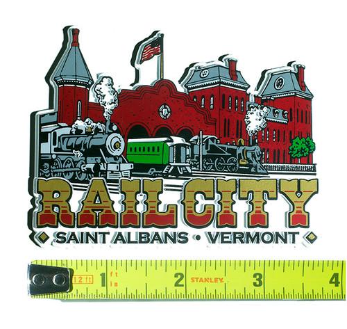 Rail City Magnet