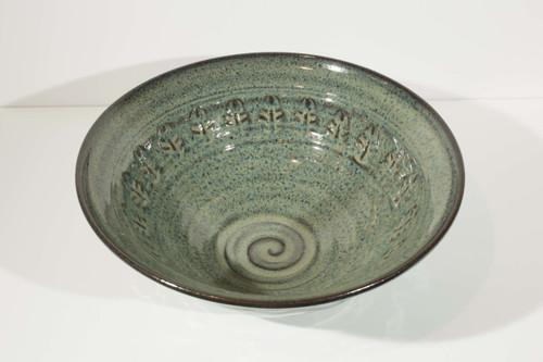 Large Stamped Bowl