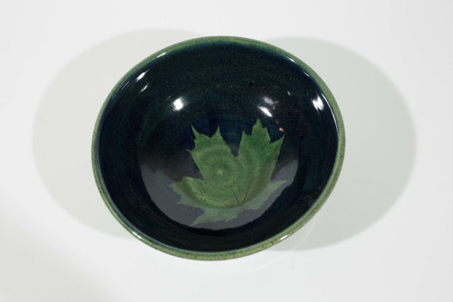 Maple Leaf Bowl - Green