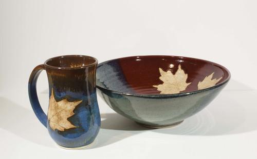 Maple Leaf Bowl- Large