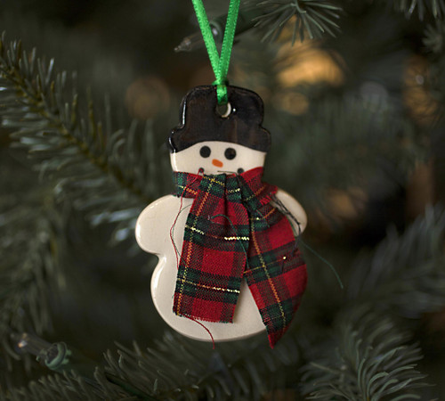 Snowman Ornament