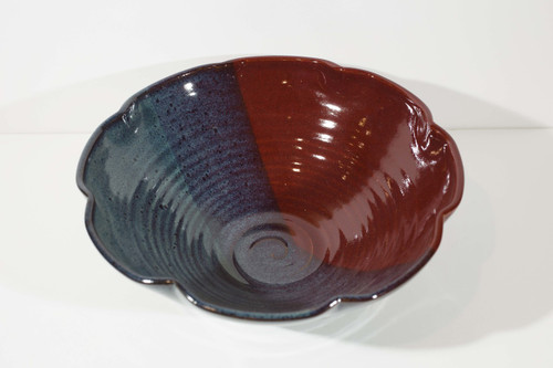 Altered Shape Bowl - Red/Storm