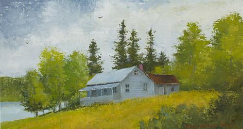 Camp on Norton Pond