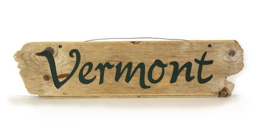 Wooden Sign - Vermont
