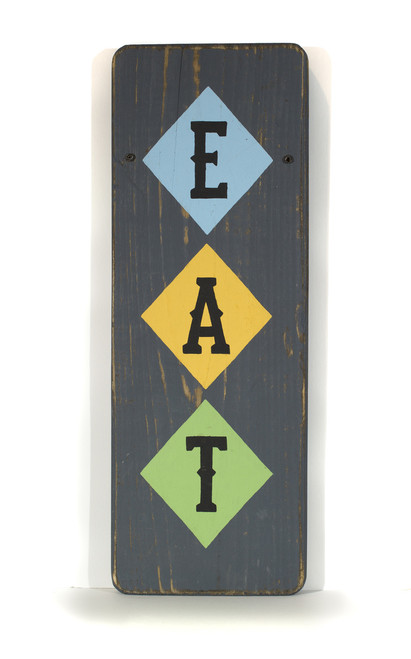 Wooden Sign - EAT