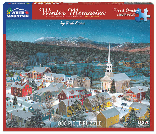 Winter Memories - Fred Swan Puzzle