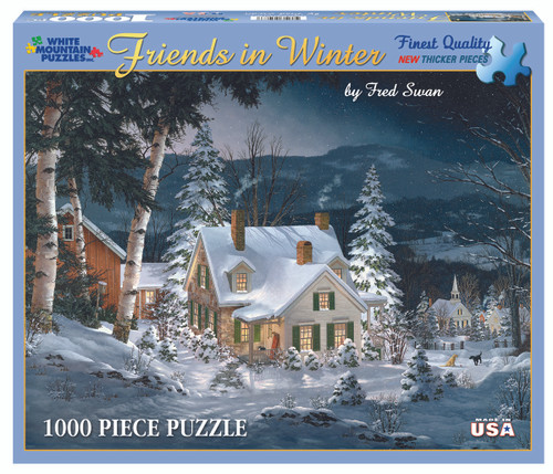Friends In Winter Puzzle