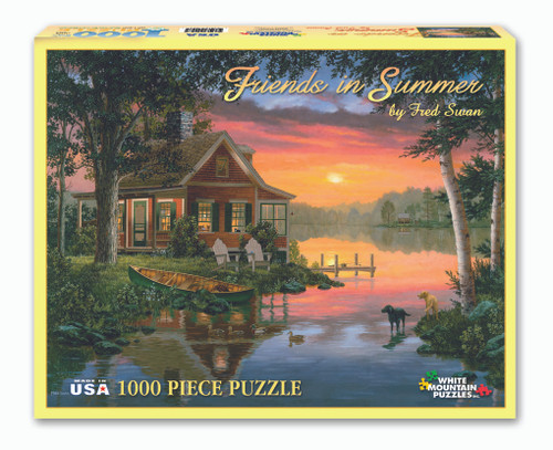 Friends In Summer Puzzle