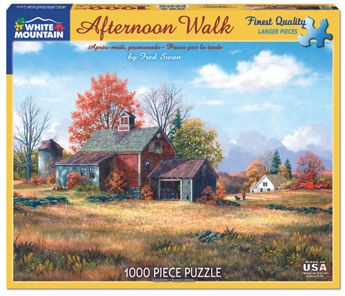 Afternoon Walk Puzzle