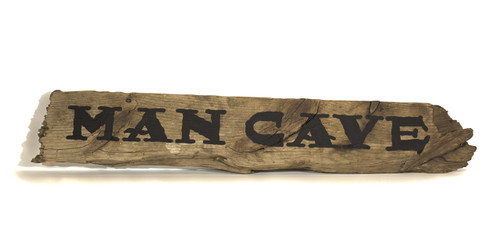 Wooden Sign - Man Cave