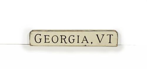 Wooden Shelf Sitter - Georgia Vermont