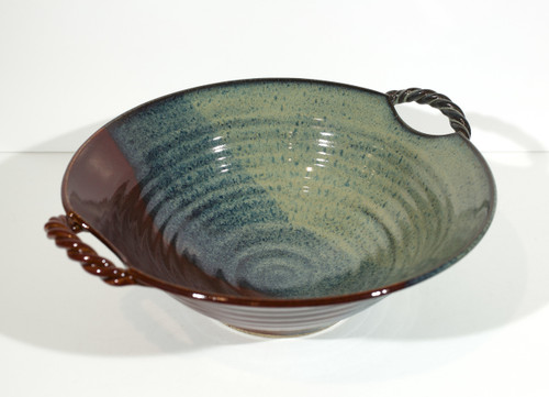Twisted Handle Bowl