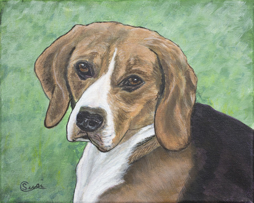 Hope Beagle - Print