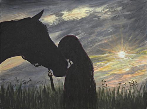 G'Night Horse - Print