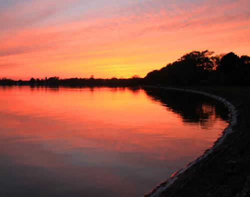 Bay Sunset - Saint Albans, VT