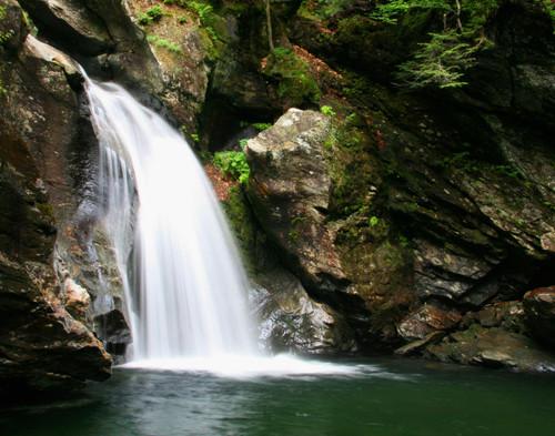 Bingham Falls - Stowe, VT