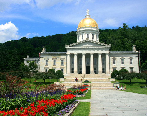 State House Flowers - Montpelier, VT