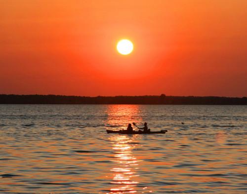 Sunset Kayaking - Swanton, VT