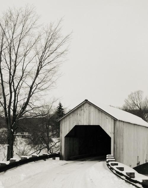Winter Bridge - Fairfield, VT