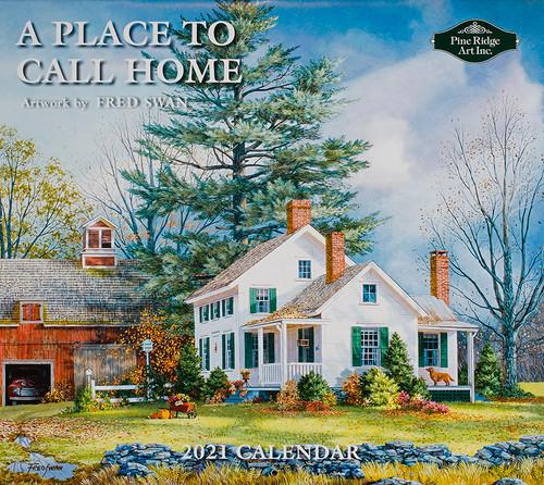 2021 Fred Swan Artist Calendar
