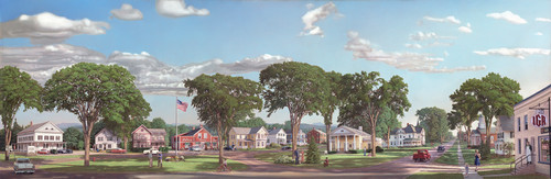 Shelburne Village 1955