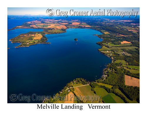Melville Landing aerial