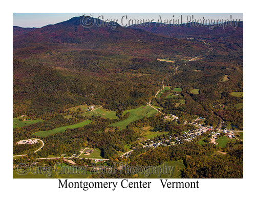 Montgomery Center aerial