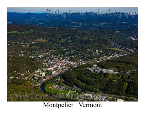 Montpelier aerial