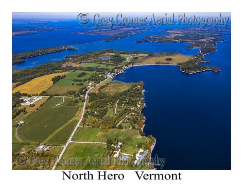 North Hero aerial