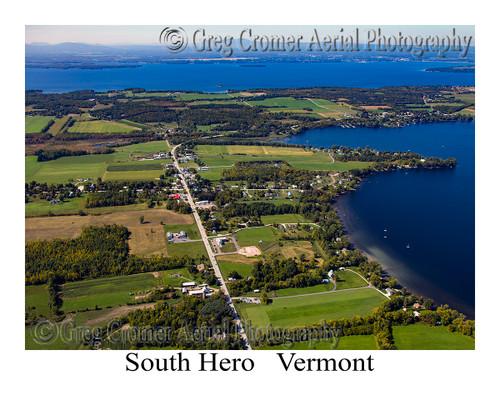 South Hero aerial