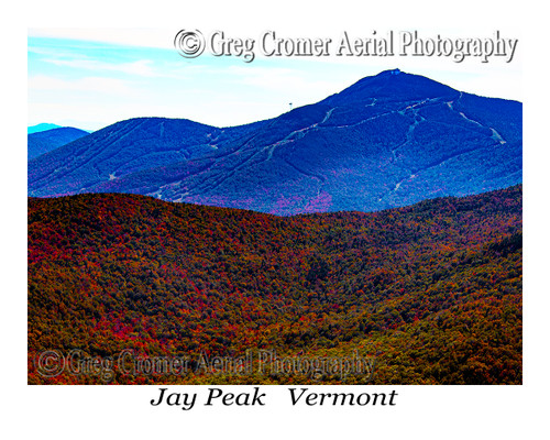 Jay Peak aerial