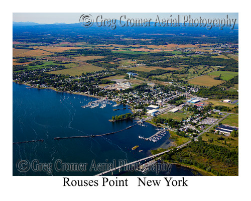 Rouses Point aerial