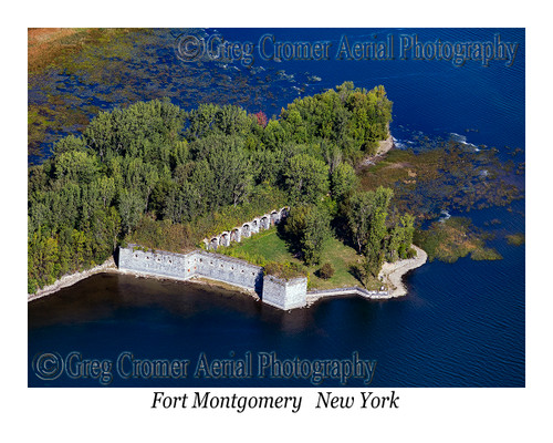Fort Montgomery, Rouses Point aerial