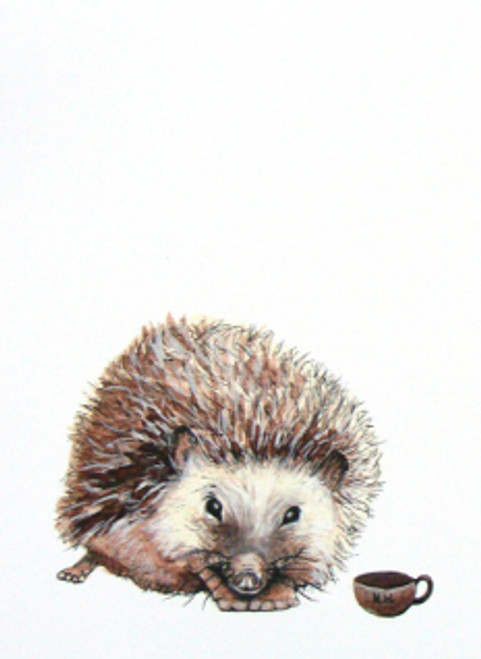 Hedgehog - Critters and Cups