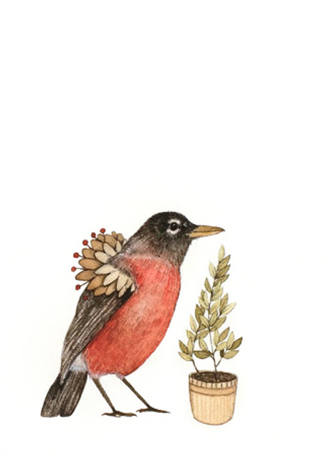 Critters and Plants - Robin