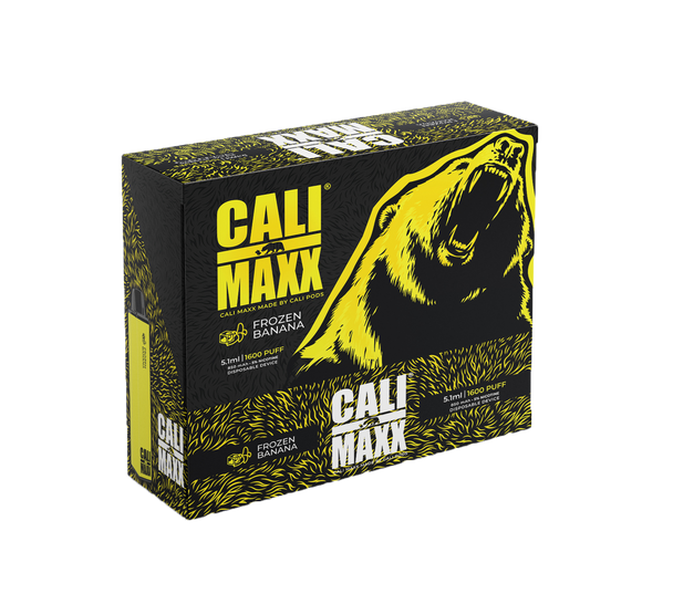 Cali MAXX Disposable - Frozen Banana
