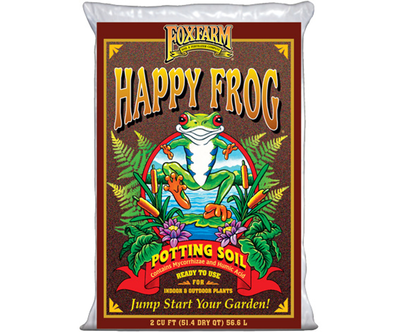FoxFarm Happy Frog  Soil 2cf | 12.85 dry gal
