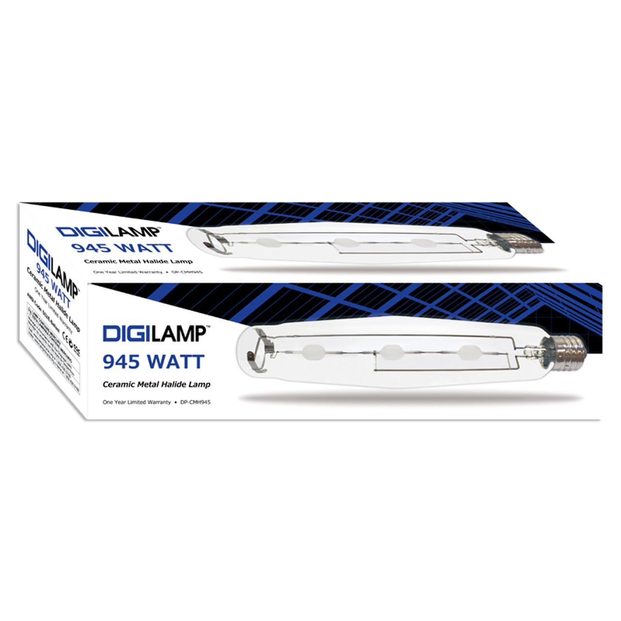 DigiLamp 945 Watt Ceramic Metal Halide CMH Lamp E39
