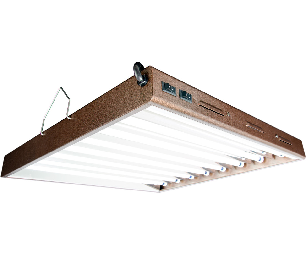 Agrobrite Designer T5 Fluorescent Light 2' x 8 w/bulbs