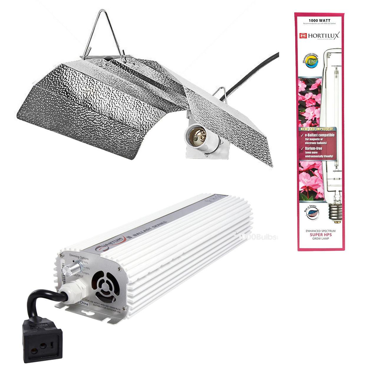 Quantum 1000w HPS Kit w/ Hortilux Bulb