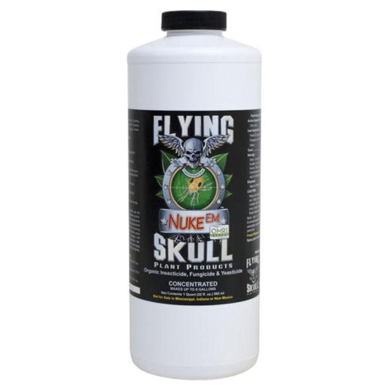Flying Skull Nuke Em 32oz neHydro.com
